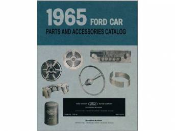 CD, FORD TEXT AND ILLUSTRATIONS MANUAL 1965, on