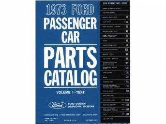 CD, FORD TEXT AND ILLUSTRATIONS MANUAL 1973, on