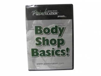 DVD, PAINTUCATION  BODY SHOP BASICS