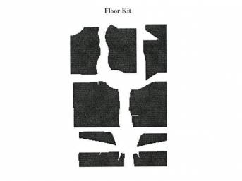 Floor Pan Kit, Acousti Shield, Quite Ride Solutions,