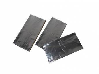 Firewall Kit, Hushmat, Silver Backing, Self Adhesive Thermal
