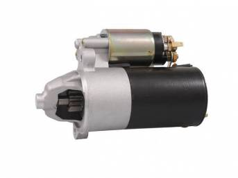 Starter, New, Tuff Stuff, Pmgr Style, Zinc Finish, 3 Bolt Mounting, 3.75 To 1 Planetary Gear Reduction W/ 40 Percent More Torque Increase, Weighs Only 10 Lbs