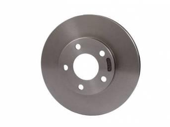 Rotor, Front Wheel Disc Brake, Rh Or Lh Side, Original, Prior Part Numbers F4zz-1125-A, Yr3z-1v125-Aa, Yr3z-1v125-B