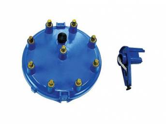 Cap And Rotor Kit, High Performance, Blue, Performance