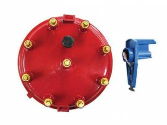 Cap And Rotor Kit, High Performance, Red, Performance