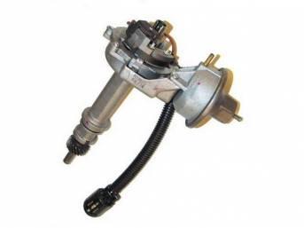 Distributor Assy, Rebuilt, W/ Dual Vacuum Diaphragm Assy , Replacement Style