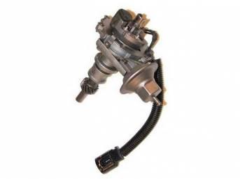 Distributor Assy, Rebuilt, W/ Single Vacuum Diaphragm Assy, Replacement Style