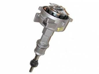 Distributor Assy, Rebuilt, W/ Cast Iron Distributor Gear, Replacement Style