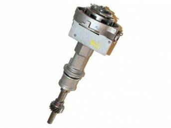 Distributor Assy, Rebuilt, W/ Steel Distributor Gear, Replacement Style