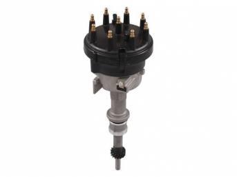 Distributor Assy, New, W/ Steel Distributor Gear, W/O