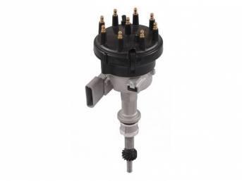 Distributor Assy, New, W/ Steel Distributor Gear, W/
