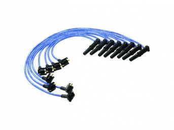 Wire Set, Spark Plug, Blue, Ford Racing, These