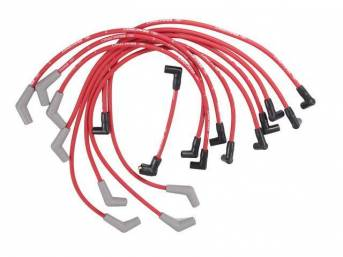 WIRE SET SPARK PLUG RED FORD RACING THESE