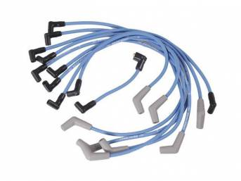 WIRE SET SPARK PLUG BLUE FORD RACING THESE