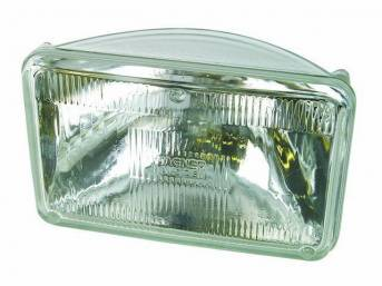 Bulb, Head Light, Rectangular, High Beam, Repro, D94y-13007-C