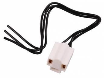 Repair Harness, Head Light Bulb Plug, Repro