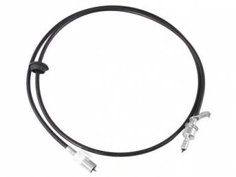 Cable Assy, Speedometer, 76 Inches Long, Repro D9bz-17260-A, E1bz-17260-A, E2bz-17260-A, E3bz-17260-A, E6zz-17260-A, E7zz-17260-A