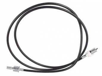 Cable Assy, Speedometer, 80 Inches Long, W/ Id Code *D9zf-Ab*, Repro, D9zz-17260-A, Eozz-17260-A