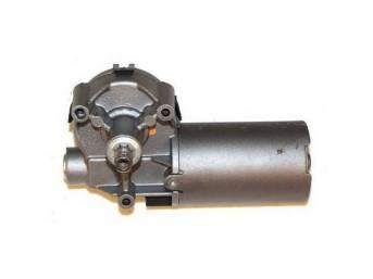 Motor Assy, Windshield Wiper, Early Design, 2 Plugs, Rebuilt, E8zz-17508-A