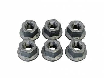 Mounting Kit, Front Shock Mounting Bracket, Incl 6 Correct Style Nuts