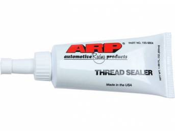 Thread Sealer, Ptfe Teflon, By Arp, 1.69 Oz. Tube, Designed For Use On All Wet Deck Cylinder Block Applications In Order To Prevent Coolant Leakage Past The Head Bolts Threads, Can Be Use On Pipe Plugs, Fittings And Other Leak Proof Seals