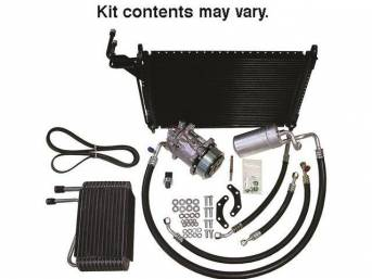 A/C System, Deluxe, Factory Design, R-134a, Incl New