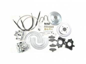 SSBC USA Rear Disc Brake Conversion Kit 79-86 (Upgrade Rotors/STD Calipers)