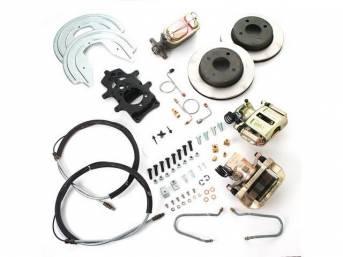 SSBC USA Rear Disc Brake Conversion Kit 87-92 (STD Rotors/STD Calipers)