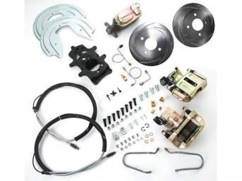 SSBC USA Rear Disc Brake Conversion Kit 87-92 (Upgrade Rotors/STD Calipers)
