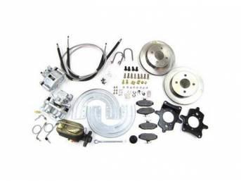 SSBC USA Rear Disc Brake Conversion Kit 1993 (STD Rotors/STD Calipers)