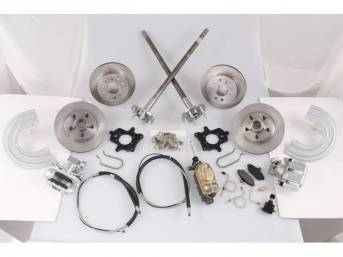 SSBC USA 5 Lug 4 Wheel Disc Brake Conversion Kit 87-92 (STD Rotors/STD Calipers)