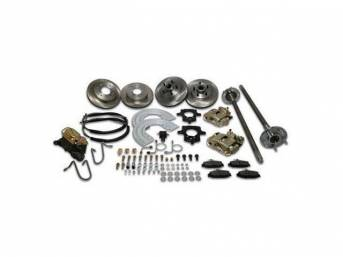 SSBC USA 5 Lug 4 Wheel Disc Brake Conversion Kit 87-92 (Upgrade Rotors/STD Calipers)