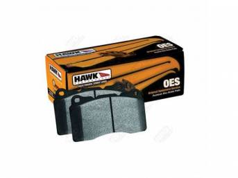 Pad Set, Front Disc, Hawk Performance, Oes Compound,