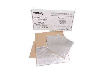 Door Kit, Hushmat, Silver Backing, Self Adhesive Thermal