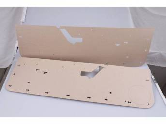 Boards, Door Panel, Pair, Incl Rh And Lh Side, Pre Cut And Perforated For Proper Installation.