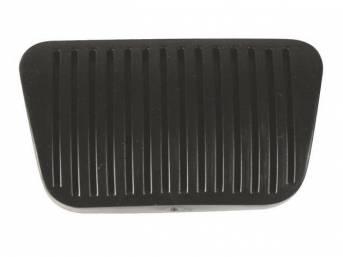 Pad, Brake Pedal, Original, Prior Part Number D8bz-2457-A