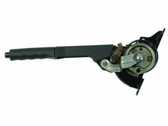 Control Assy, Parking Brake, Plastic Covered Lever W/ Black Plastic Grip, Original, Prior Part Numbers E7zz-2780-A, F4zz-2780-A, F5zz-2780-Aa