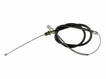 Cable Assy, Parking Brake, 68.70 Inch Long, Good Repro, E4zz-2a635-A