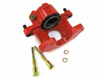 Caliper Assy, Disc Brake, Front, Lh, Red, Powder Coated, Rebuilt, E7sz-2b121-A, F1zz-2b121-A