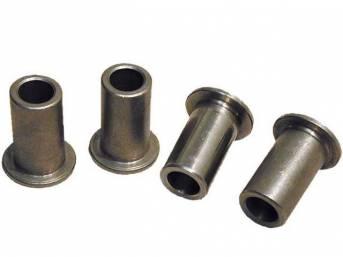 Brake Sleeves, Stainless Steel, Steeda, Incl (4) Correct