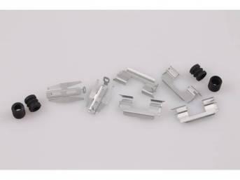 Hardware Kit, Front Disc Brake Caliper, Incl (4)