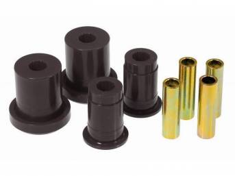 Bushing Kit, Front Lower Control Arm, Prothane, Black,