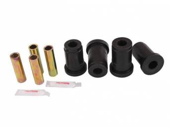 Bushing Kit, Front Lower Control Arm, Prothane, Black, Does Not Include Shells, These Bushings Are Designed To Be A Performance Replacement Part