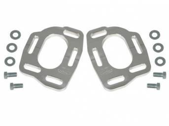 Conversion Kit, Steeda Aluminum Caster Camber Top Plate,