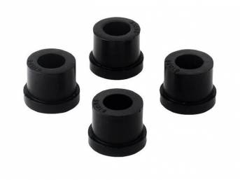 Insulator Assy, Steering Gear, Black, Repro, Use W/ 2 Piece Design Rack, Prothanne, These Are Stock Style Replacments,