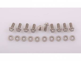 ARP Stainless Steal Rear Differential Cover Bolt kit for 79-04 Mustang w/ 7.5 or 8.8