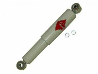 Horizontal Shock Absorber, Rear Axle, Kyb, Gas-A-Just, High Pressure Gas, *Quad Shock*