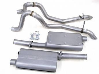 Exhaust Kit, Cat Back, Flowmaster, 16 Gauge 2