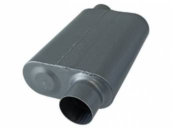 Muffler, Flowmaster, Super 44 Series, 409s Stainless Steel,