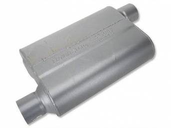 Muffler, Flowmaster, 40 Series, Aluminized Offset Design, W/